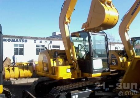 小松PC70-8液壓挖掘機外觀圖1