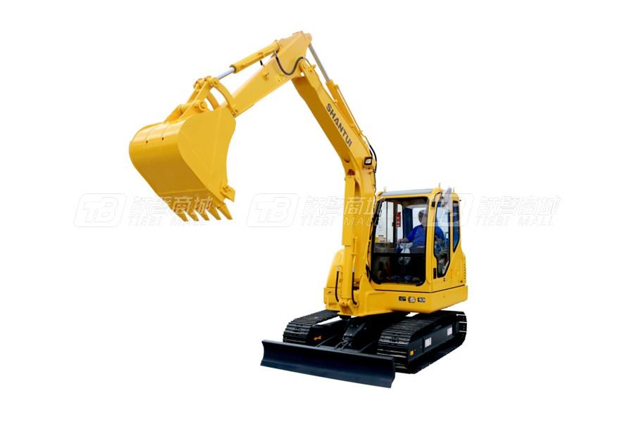 山重建機SHANTUISE60-9(標配版)履帶挖掘機