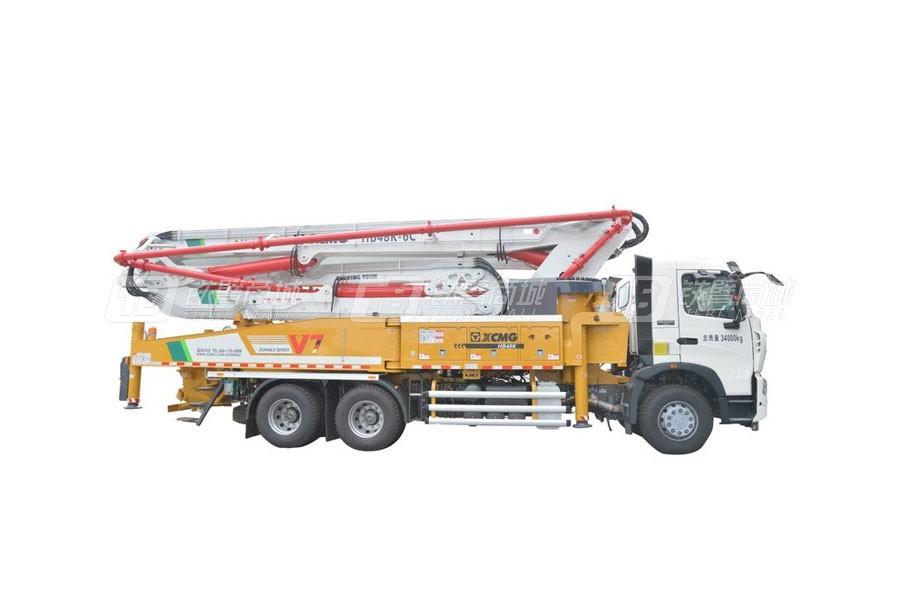 徐工HB48K混凝土泵車( 重汽底盤)
