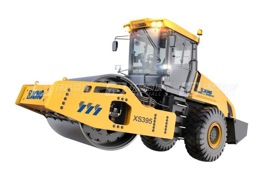 徐工XS395全液壓單鋼輪壓路機
