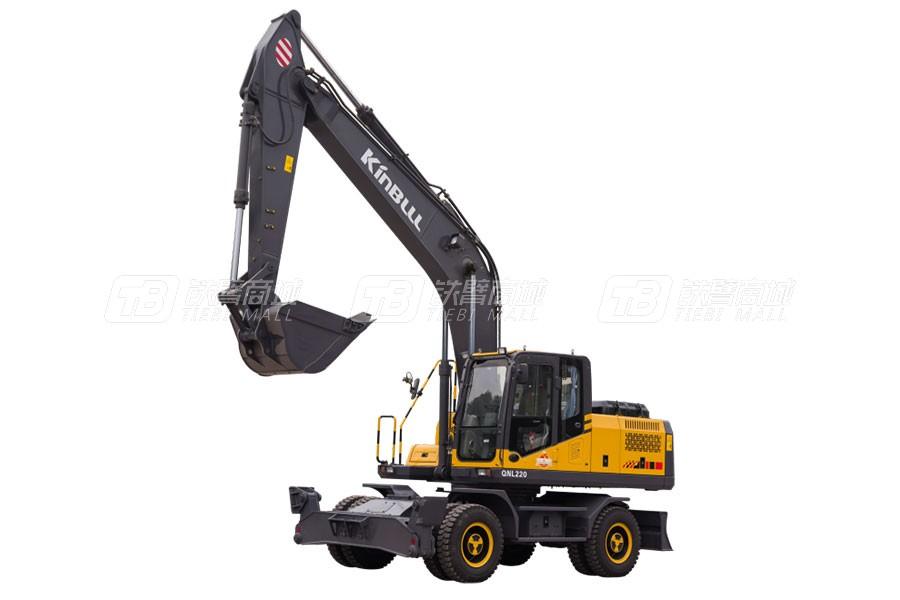 勤牛QNL310E輪式挖掘機