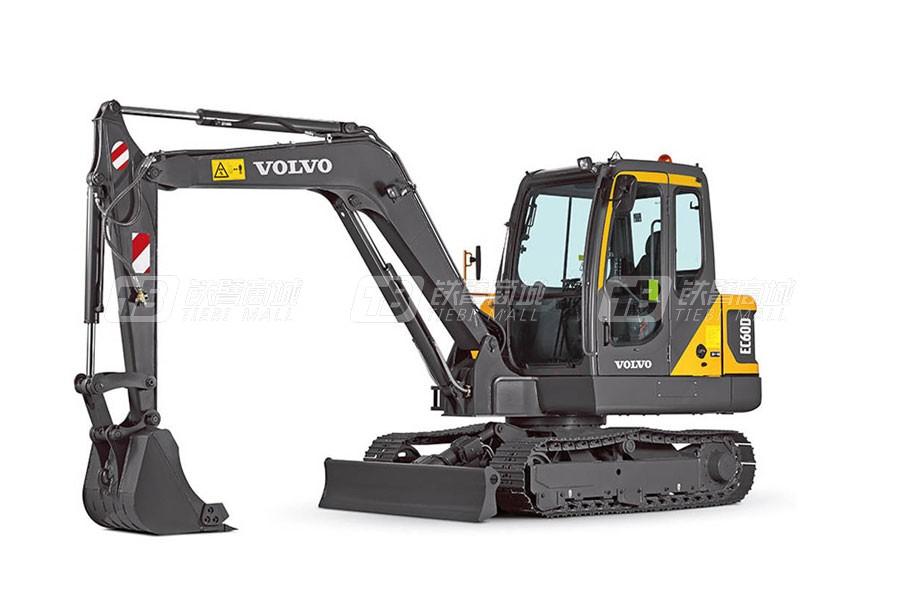 沃爾沃EC60D小型挖掘機