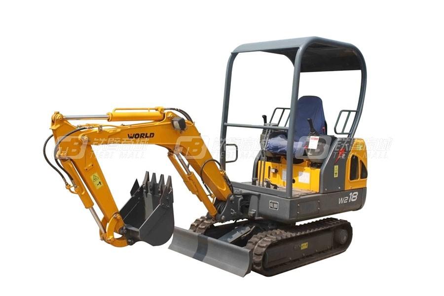沃得重工W218挖掘機