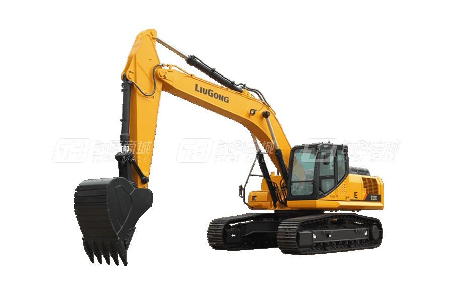 柳工933E挖掘機